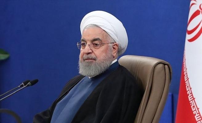 Ruhani: 30 ila 35 milyon İranlı daha Kovid-19'a yakalanma riskiyle karşı karşıya