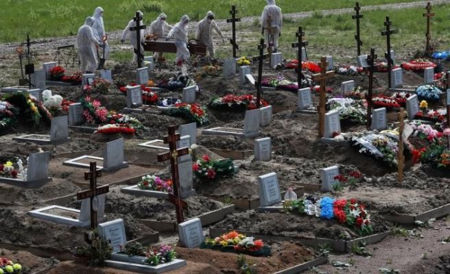 Rusya'da vaka sayısı 790 bine yaklaştı