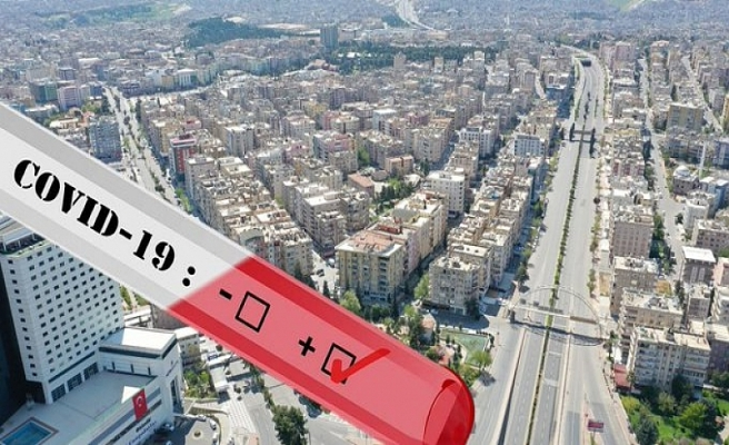 Şanlıurfa'da 132 ev karantinaya alındı