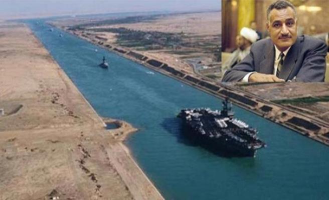 Tarihte Bugün (26 Temmuz): Nasır Süveyş Kanalını millileştirdi
