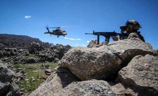Tunceli'de hava destekli operasyon: 2 terörist öldürüldü