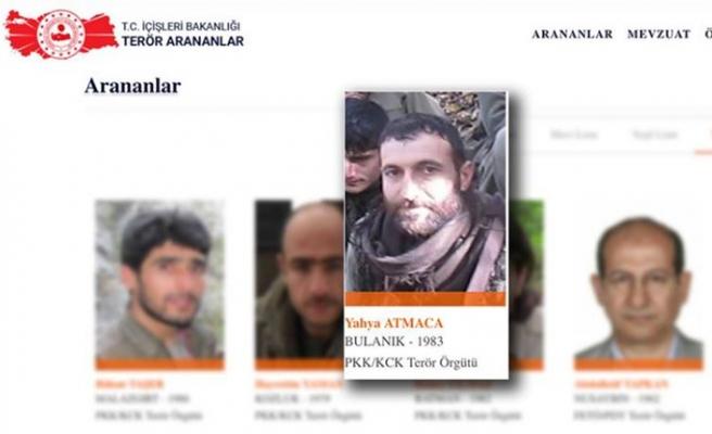 Tunceli'de öldürülen teröristlerden biri turuncu kategoride