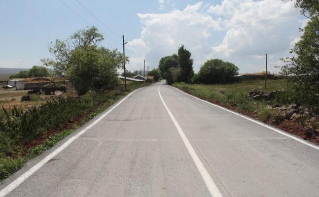 Türkiye'de bir köy ilk kez betonla tanıştı