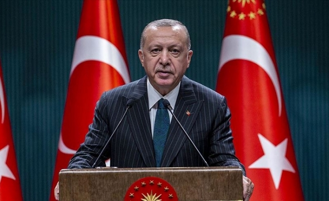 Cumhurbaşkanı Erdoğan kabine toplantısı sonrası açıklamarda bulundu