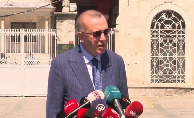 Cumhurbaşkanı Erdoğan: Kardeş Lübnan'ı yalnız bırakamayız!