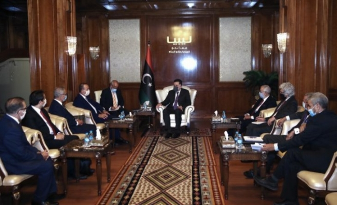 Dışişleri Bakanı Mevlüt Çavuşoğlu, Libya'da