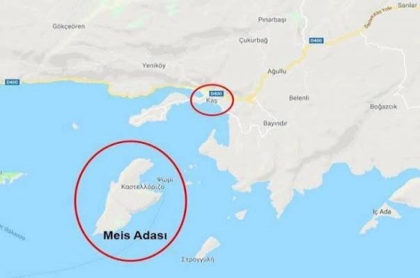 Dışişlerinden Meis adası açıklaması