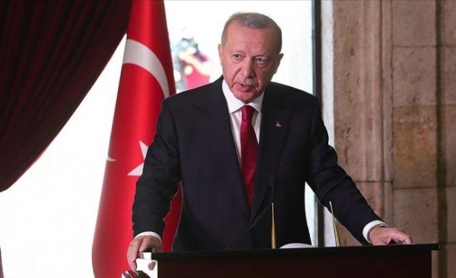 Erdoğan: 2023'e daha güçlü bir ülke olarak girmekte kararlıyız