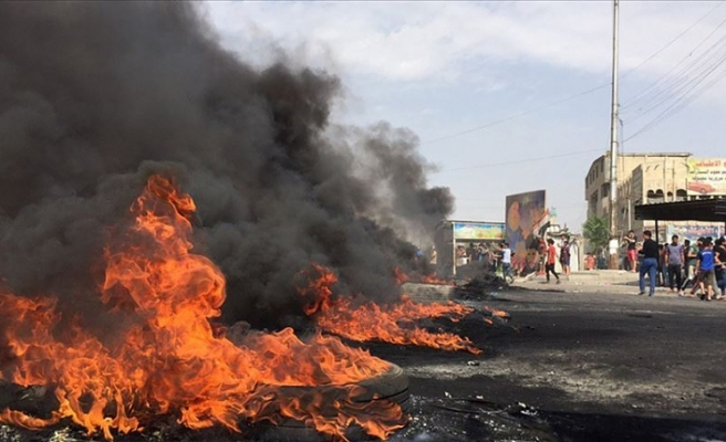 Irak'ın Halepçe kentinde göstericiler hükümet binalarını ateşe verdi