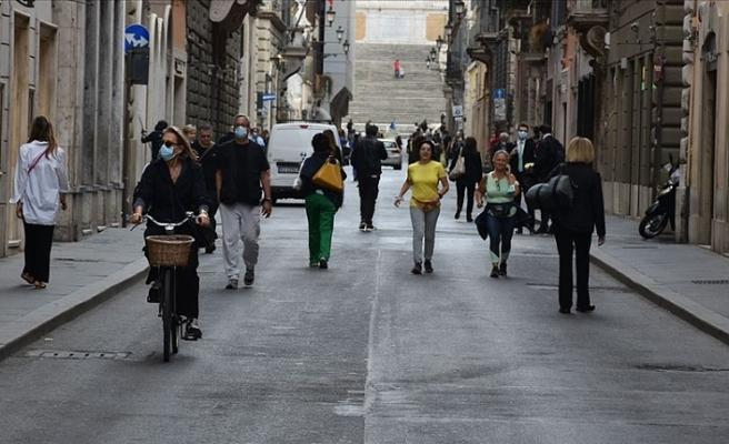 İtalya'nın son 24 saatlik kovid-19 tablosu