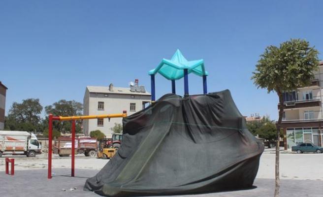 Konya'da korona tedbirleri kapsamında oyun parkları kapatıldı