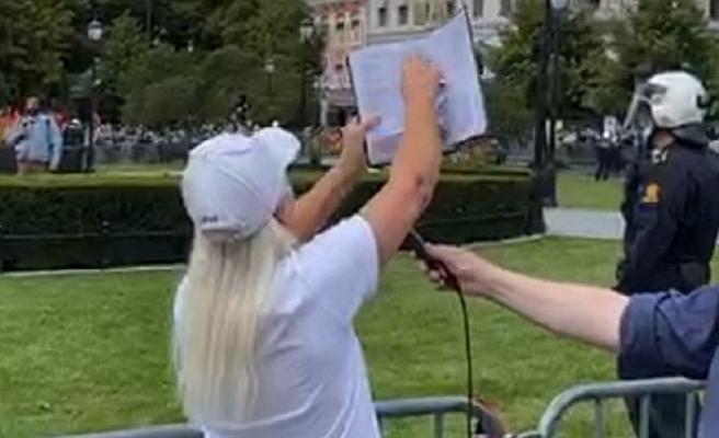 Norveç'te Kur'an-ı Kerim'in yırtılmasına ilişkin açıklama