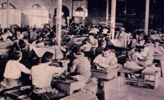 Osmanlı'da ilk işçi grevi