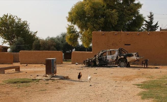 Tel Abyad'da PKK/YPG'nin tuzakladığı mayının patlaması sonucu 2 çocuk öldü