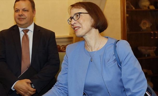 ABD Büyükelçisi Garber, Rumlara silah ambargosunun kaldırılması kararının Türkiye'yi hedeflemediğini savundu