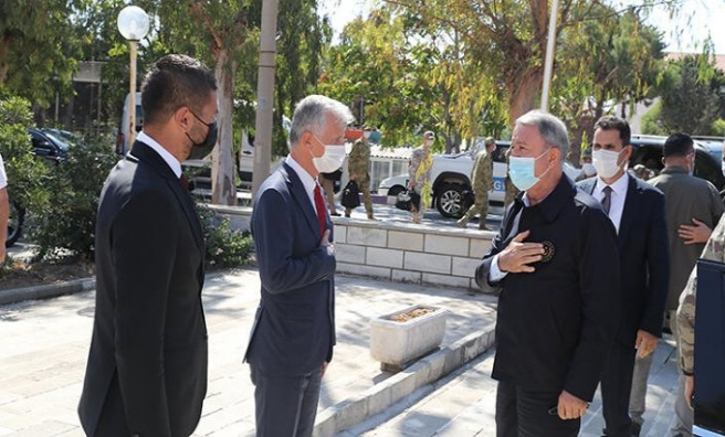 Akar ve TSK komuta kademesi İzmir'de