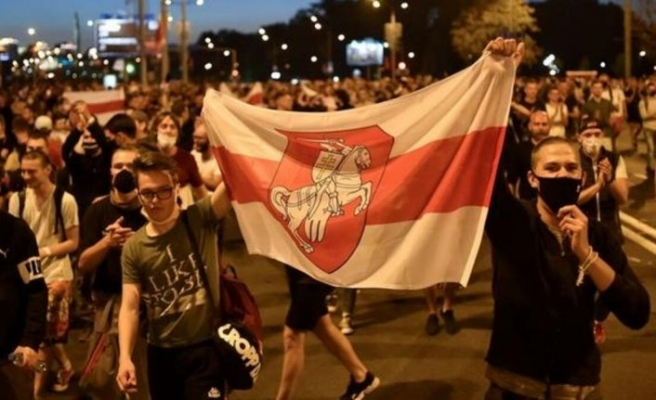Belarus'taki protestolarda 114 kişi gözaltına alındı