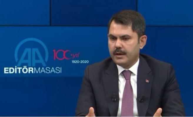 Çevre ve Şehircilik Bakanı: 7 bölgemize ilişkin eylem planları hazır