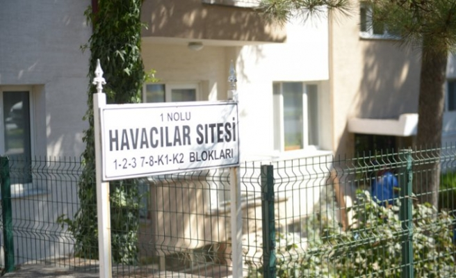 Eskişehir'de bir site karantinaya alındı