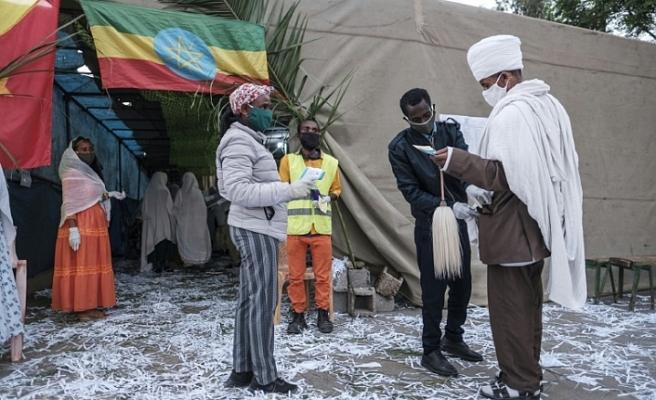 Etiyopya'da Tigray eyaleti halkı sandık başına gitti