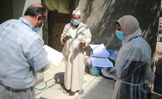 Filistin'de Kovid-19 vaka sayısı 44 bini aştı