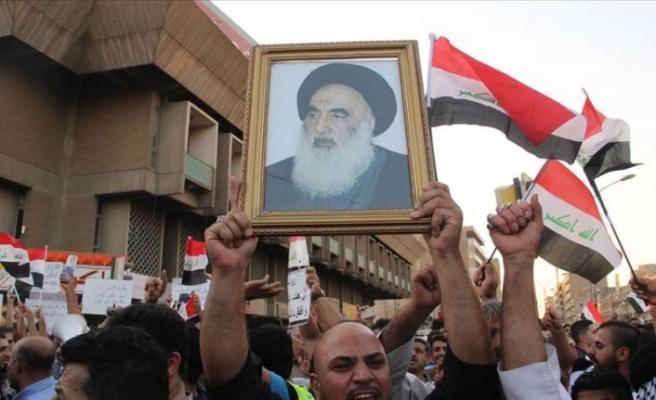 Irak'ta Şii dini merci Sistani: Erken seçim BM denetiminde, zamanında yapılsın