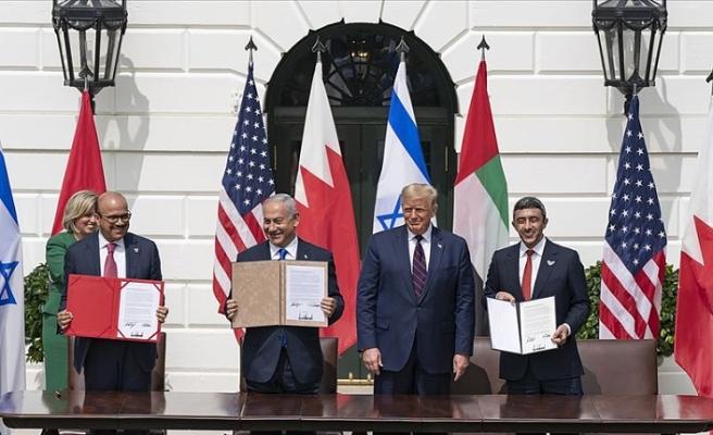 İsrail'in BAE ve Bahreyn'le yaptığı anlaşmalarda 'iki devletli çözüm' yok, 'Yüzyılın Anlaşması' var