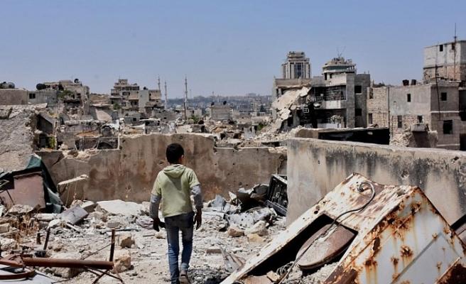 İsrail'in Halep'e hava saldırısı düzenlediği iddia edildi