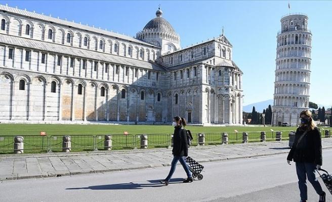 İtalya'da son 24 saatte 1370 yeni Kovid-19 vakası açıklandı