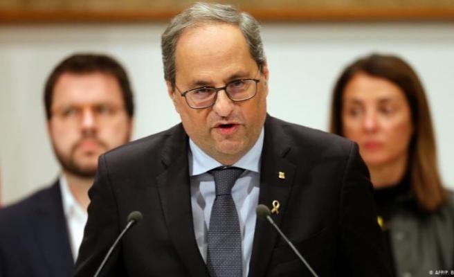 Katalonya Başkanı Quim Torra, mücadelesini Avrupa mahkemelerinde verecek