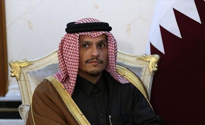 Katar, Filistin meselesinde adil çözümü desteklediğini yineledi