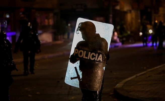 Kolombiya'da polise tepki protestoları devam ediyor
