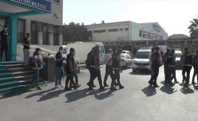 Mersin ve Adana'da tefecilik operasyonu: 14 şüpheli tutuklandı
