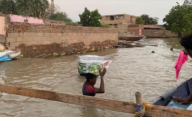 Sudan'dan sel mağdurları için 'acil yardım çağrısı'