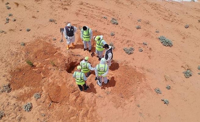 Hafter'den kurtarılan Terhune'de bir toplu mezar daha bulundu