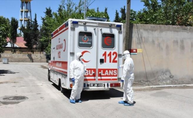 Adıyaman'da 77 ev karantinaya alındı