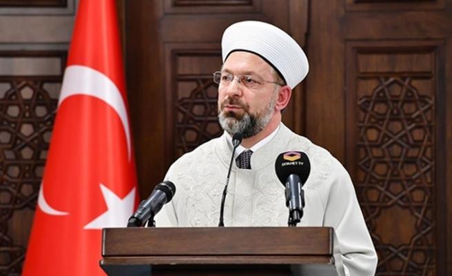 Ali Erbaş: 3 Kur'an kursu evlerine giremeyen İzmirlilere açık