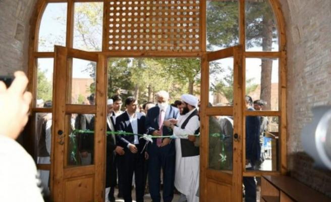 Ali Şir Nevai Camii'ni yenilendi
