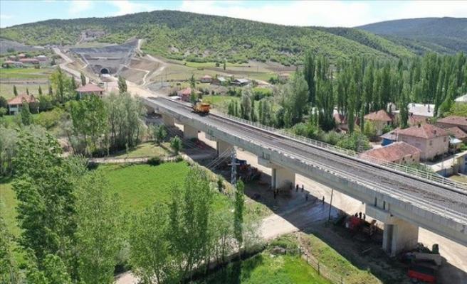 Ankara-Sivas YHT hattında test aşaması başlıyor