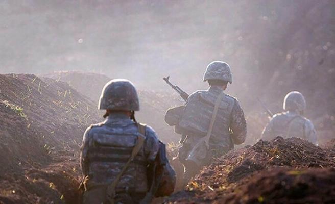 Ateşkese rağmen saldıran Ermenistan ordusu ağır kayıplar verdi