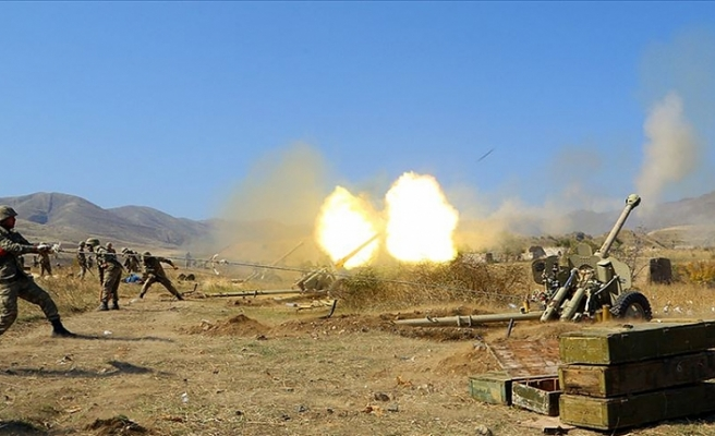Azerbaycan ordusu durdurulamıyor! 21 köy ve 1 kasaba işgalden kurtarıldı