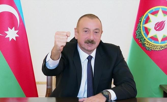 Azerbaycan Cumhurbaşkanı Aliyev'den Türk F-16'ları açıklaması