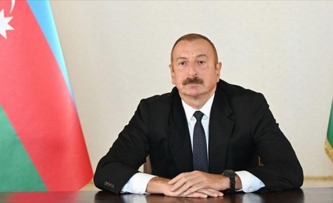 Azerbaycan Cumhurbaşkanı Aliyev: Türkiye, dünyada ve bölgede istikrar sağlayan bir role sahip
