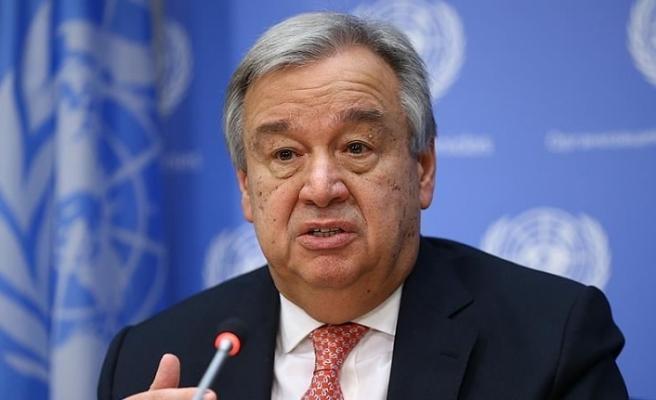 BM Genel Sekreteri Guterres, KKTC Cumhurbaşkanı Ersin Tatar'ı kutladı
