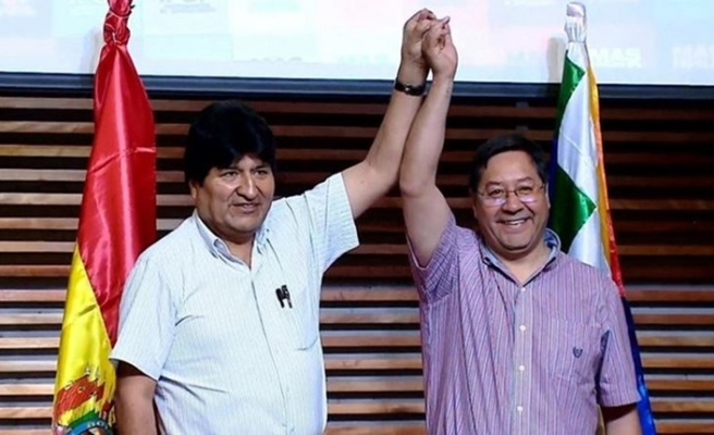 Bolivya'da seçimleri Moralis'in adayı kazandı