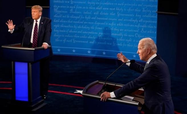 ABD'de canlı yayın tartışması öncesi iki liderin test sonucu negatif
