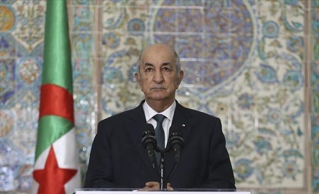 Cezayir Cumhurbaşkanı Tebbun, Kovid-19 tedavisi için Almanya'ya gitti