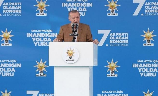 Cumhurbaşkanı Erdoğan: Faşizm bizim kitabımızda yok, sizin kitabınızda var