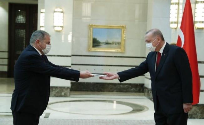 Cumhurbaşkanı Erdoğan İspanya'nın Ankara Büyükelçisini kabul etti