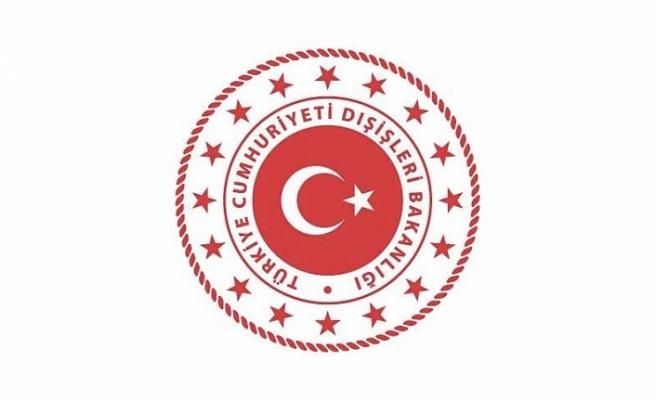Dışişleri Bakanlığı'ndan yeni Cumhurbaşkanı Ersin Tatar'a tebrik mesajı